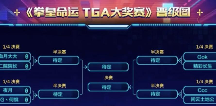 8进4 【拳皇命运TGA大奖赛】
