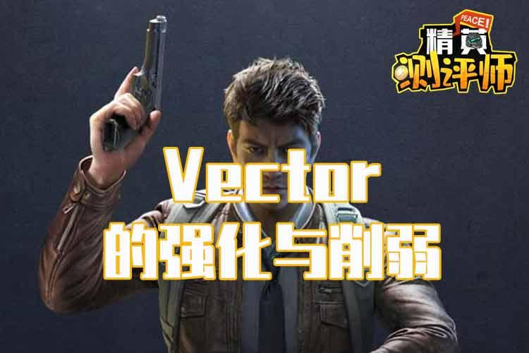 精英测评师:枪械优化之Vector的强化与削弱