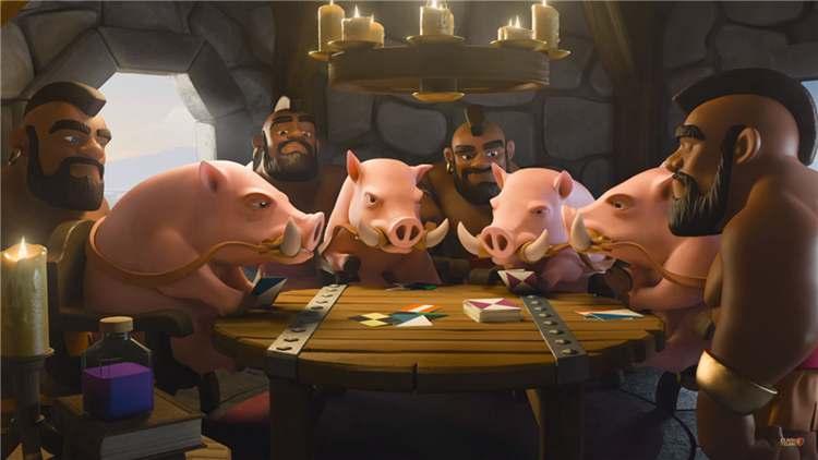 多样性战术玩法 超级黑骑猪卡组分享