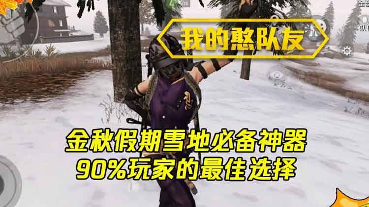 我的憨队友:金秋假期雪地必备神器,90%玩家的最佳选择