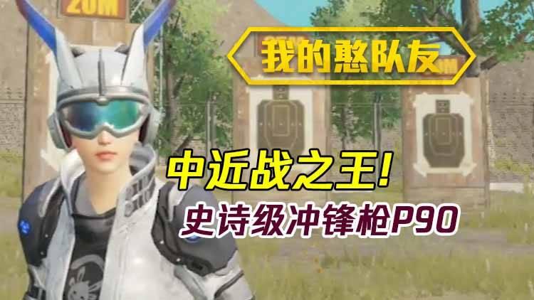 我的憨队友:中近战之王!史诗级冲锋枪P90